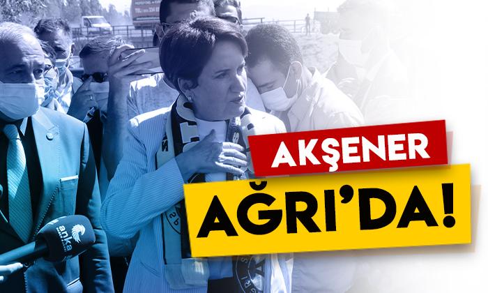 İYİ Parti Genel Başkanı Meral Akşener Ağrı'da!