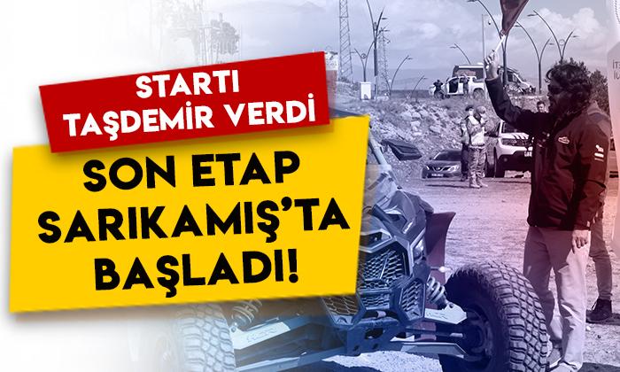 Startı SERKA Genel Sekreteri İbrahim Taşdemir verdi: TransAnatolia'nın son etabı Sarıkamış'ta başladı!