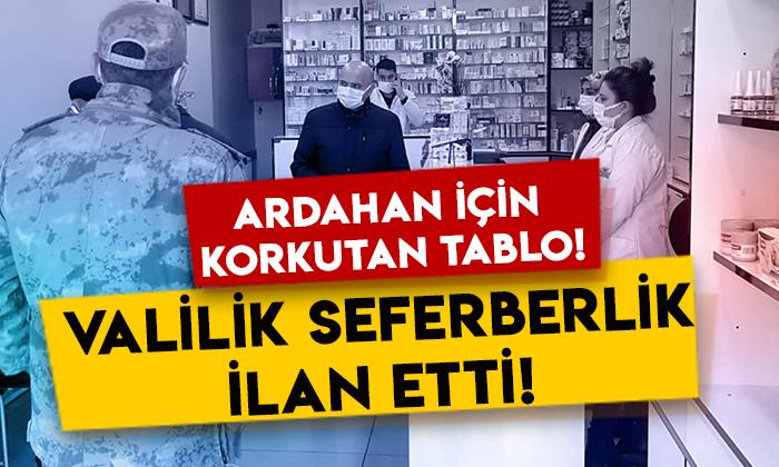 Ardahan'da korkutan tablo: Valilik resmen seferberlik ilan etti!