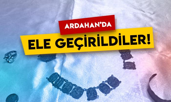 Ardahan'da ele geçirildiler: Tam 7 parça!