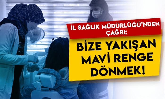 Kars İl Sağlık Müdürlüğü'nden vatandaşlara çağrı: Bize yakışan mavi renge dönmek!