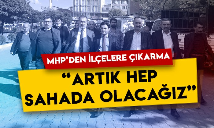 MHP Kars İl Başkanı Tolga Adıgüzel ve MDK üyesi Taner Gökçek'ten ilçelere çıkarma: Artık hep sahada olacağız!